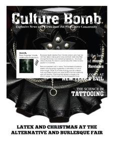 Culuture Bomb - JanuaryIssue 2013 - Auroch