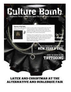Culuture Bomb - JanuaryIssue 2013 - COTG