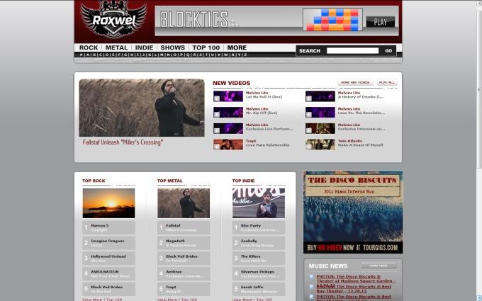Jan 23 2013 - Roxwel video Fallstaf #1