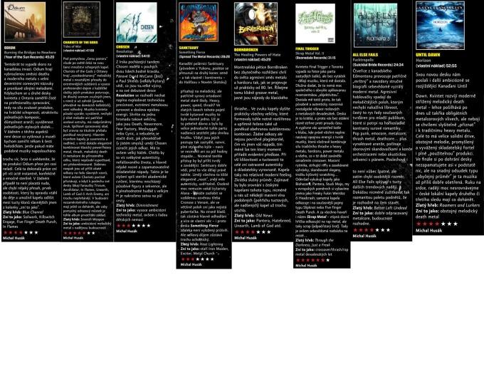 Muzikus Reviews - Odium, COTG, Chosen, Sanktuary, BornBroken, Final Trigger, AEF, Until Dawn
