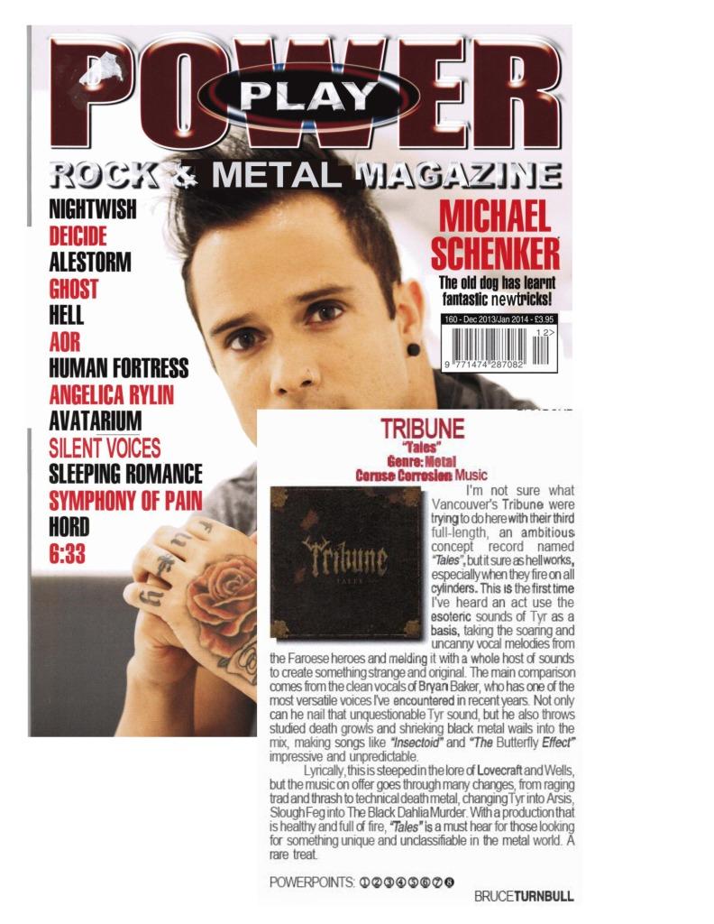 Dec 2013 - Jan 2014 - Powerplay Mag - Tribune Review