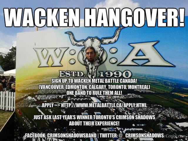 Wacken Metal Battle Meme 3 Crimson Shadows copy