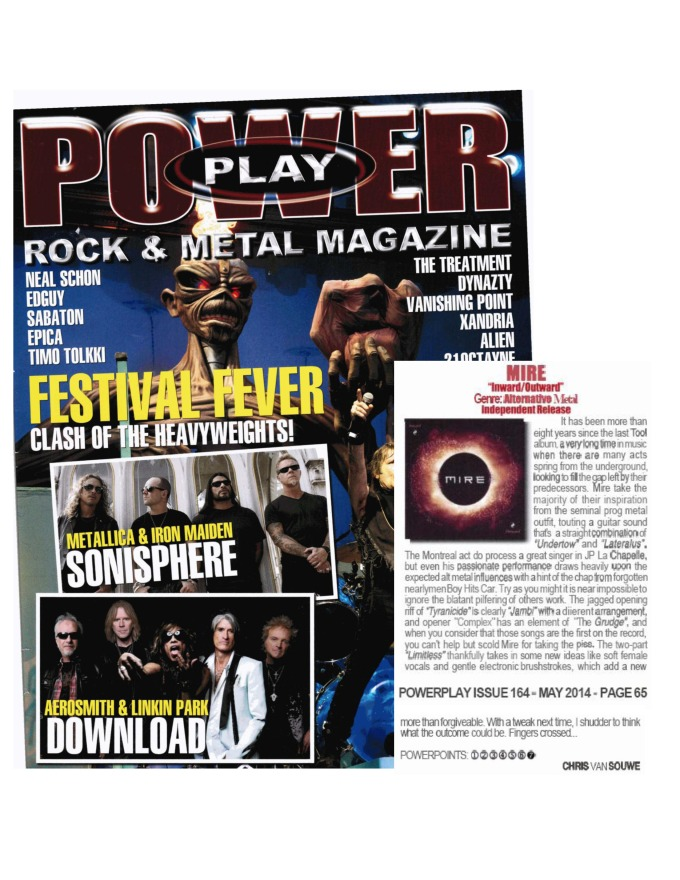 May 2014 - Powerplay Magazine UK - MIRE