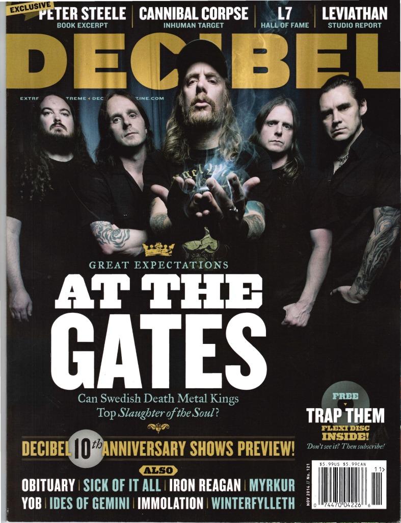 Decibel Mag Cover November 2014