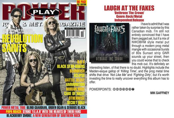 February 2015 - Powerplay Mag UK - #172 - Laugh At The Fakes