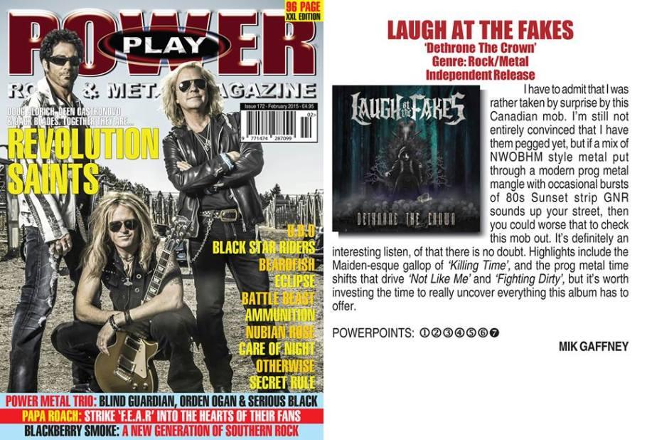 February 2015 - Powerplay Mag UK - #172 - Laugh At The Fakes