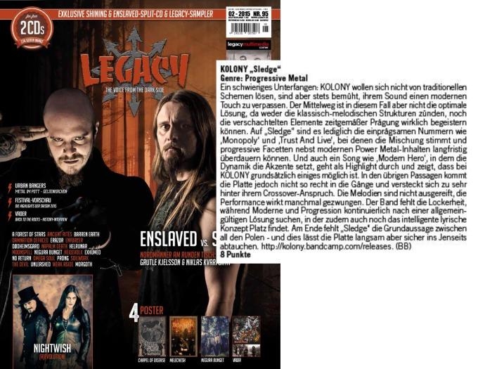 February 2015 - Legacy - Kolony