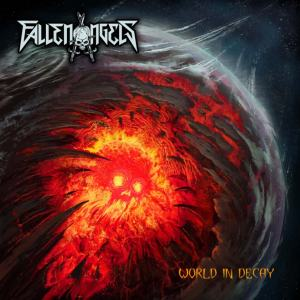 Album Cover - Fallen Angels - World In Decay