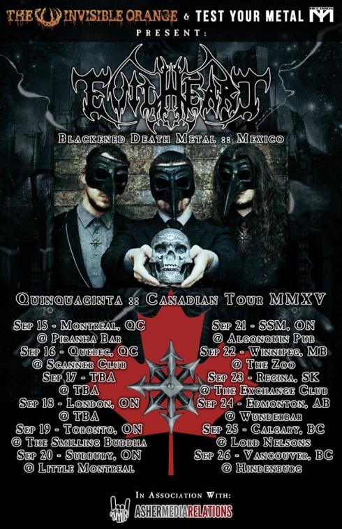 Evilheart Canadian Tour Flyerv2