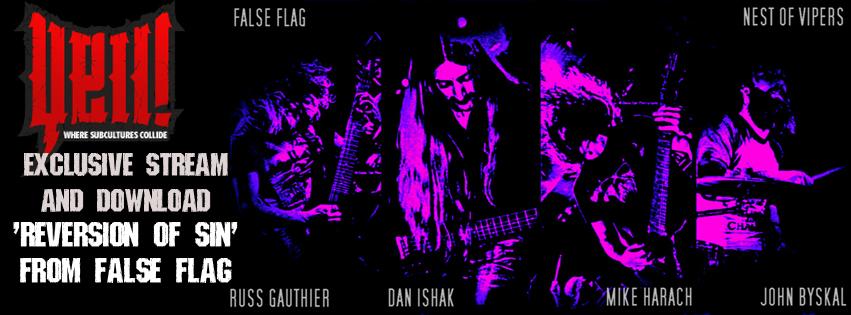 yellmagazine download - false flag - fb cover