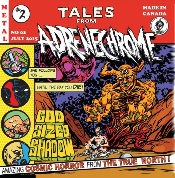 Album Cover - Adrenechrome - Tales From Adrenechrome - 2015