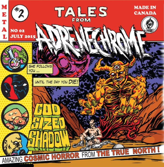 Album Cover - Adrenechrome - Tales From Adrenechrome - 2015