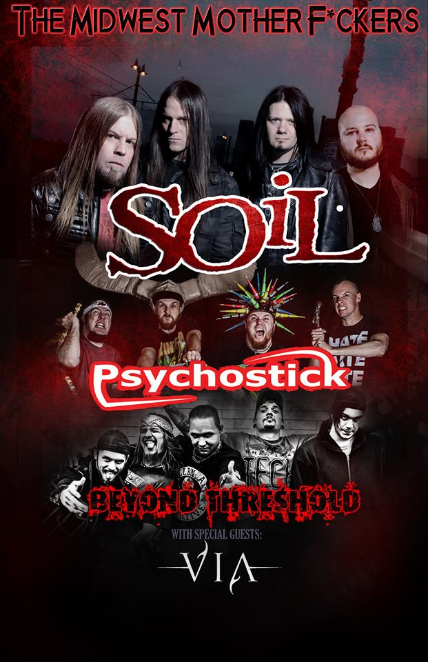 Psychostick announce december dates w soil beyond for Soil tour dates 2015