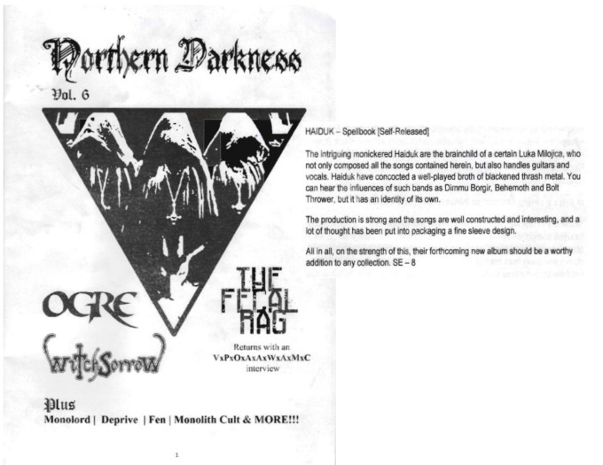 Northern Darkness - Haiduk Review