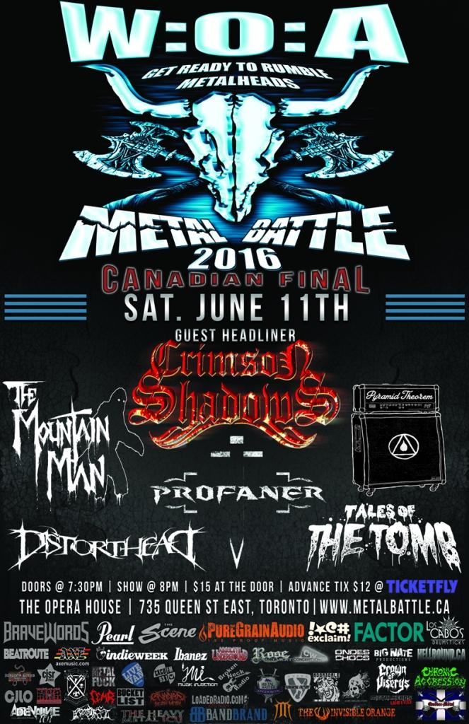 NEWS: Wacken Metal Battle Canada Announce 2016 National ...